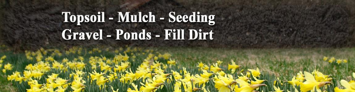 Sextons Excavating Jackson Ohio – Seed | Mulch | Excavating